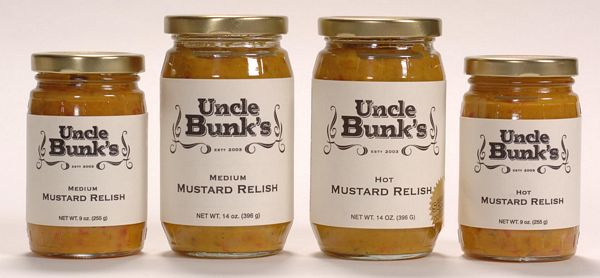Mustard Relish Medium / Hot - 9 oz